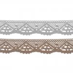 Kootud polüesterpits laiusega 3,5cm Art.D793