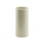 Nylon-muovista neulekoneen blancokortti (reikäkortti), 24 reikärivia, läpikuuluva, rulla 5m extra vahva