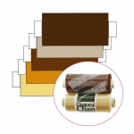 Polyester Sewing Thread for daily use, Coats Diagonal Chain/Ideal, 366m (400y), beige, brown
