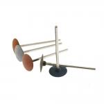 Small Rubber Disc grinding, polishing drill bits, wheel shape, blade edge ø15mm, EVE (Germany)