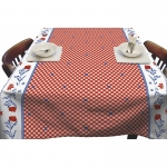 PVC tablecloth Art.11-W029