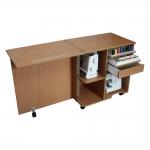 Käsityöt ja ompelukoneen työpöytä (kaappi) Compact