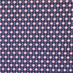 Ornamendimustriga, veniv, puuvillane kangas, Megan Blue Fabrics 007256, 150cm/220g