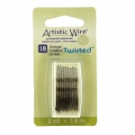 Keeratud traat / Artistic Wire / 18ga, 1mm; 1,8m / Beadalon (USA)