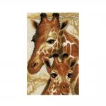 Наборы для вышивки крестом, Жирафы 1697
