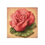 Cross-Stitch Kit Riolis 00070 PT Rose