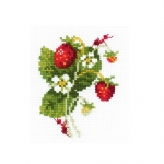 Cross-Stitch Kit Riolis HB172 Wild Strawberry
