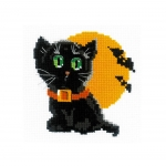 Cross-Stitch Kit Riolis HB175 Black Cat