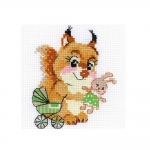 Cross-Stitch Kit Riolis 1741 Playing House
