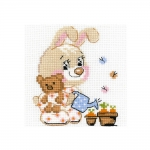 Cross-Stitch Kit Riolis 1727 Little Garden
