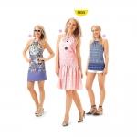 Kleit-Topp Nr.34-44, Burda Style Nr.6655