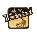 """Triigitav Aplikatsioon; """"Wonderland"""" Imedemaa 5,5 x 4 cm"""
