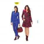 Mantel ja jakk Nr.32-44, Burda Style Nr.6596
