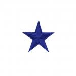 Väike täheke tikitud triigitav piltaplikatsioon 3cm