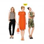 Kleit ja top Nr.34-46, Burda Style Nr.6914