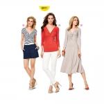 Kleit ja top Nr.34-46, Burda Style Nr.6911