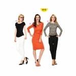 Kleit ja top Nr.34-46, Burda Style Nr.6910