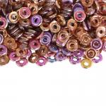 Rõngakujuline klaashelmes, metallilaadne (JPreciosa Ornela) 4x1mm
