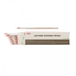 Heat erasable, iron-off invisible, cut-free white pencil, KL1224