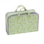 Fabric Covered Project Case: Sheep, (d/w/h): 10 x 39 x 24cm, Hobby Gift HGPC\438