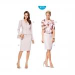 Seelik ja jakk Nr.36-46, Burda Style Nr.6775