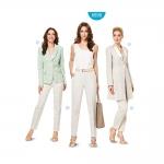 Püksid ja jakk Nr.34-46, Burda Style Nr.6898