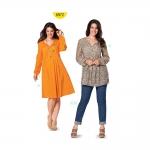 Kleit ja pluus Nr.44-56, Burda Style Nr.6972