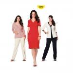 Kleit ja jakk Nr.44-60, Burda Style Nr.6948