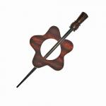 Kinnitusnõel, sallinõel,Symfonie Rose Garnet, KnitPro 20829