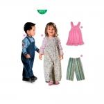 Lõiked lastele pikkusega 68-98cm, Burda Nr. 9772