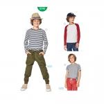 Lõige lapsele pikkusega 116 cm - 158 cm, Burda Style Nr. 9346