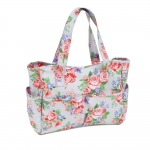 Craft bag, handbag: Rose (Matt PVC), (d/w/h): 11 x 34 x 28cm, Hobby Gift MRB\443