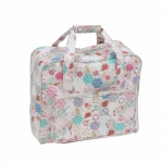 Sewing Machine Carry Bag, XL size, Notions (Matt PVC), (d/w/h): 20 x 43 x 37cm, Hobby Gift MR4660\440