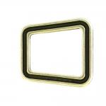 Kandiline dekoratiivne metallaas paelale või rihmale: 20 mm, 15 mm