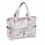 Käekott, nn käsitöötarvikute kott, Notions (Matt PVC), (d/w/h): 12.5 x 34 x 28cm, Hobby Gift MRB\440