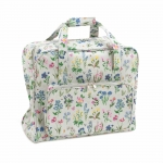 Sewing Machine Carry Bag, XL size, Spring Garden (Matt PVC), (d/w/h): 21 x 43 x 35cm, Hobby Gift MR4660\272
