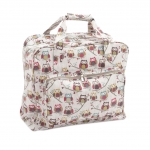 Sewing Machine Carry Bag, XL size, Hoot (Matt PVC), (d/w/h): 20 x 43 x 37cm, Hobby Gift MR4660\195