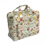 Sewing Machine Carry Bag, XL size, Owl (PVC), (d/w/h): 20 x 43 x 37cm, Hobby Gift MR4660\29