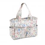 Craft bag, handbag: Homemade (Matt PVC), (d/w/h): 12.5 x 39 x 35cm, Hobby Gift MRB\286