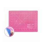 Setting mat, cutting mat, rotary mat, pink/blue, 22cm x 30cm, SewMate DW-12124(AC)