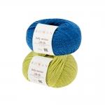 Naturaalset siidi sisaldav lõng Baby Merino Silk DK firmalt Rowan