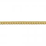 Metallikniidist õrn pits 3174 laiusega 0,8 cm