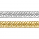 Mettalic Lace 3037 / 2 cm
