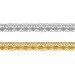 Metallikniidist õrn pits 3111 laiusega 1,5 cm