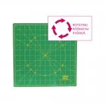 Rotating Self-Healing Cutting Mat, 12` x 12` (30cm × 30cm) OLFA (Japan) RM-12S