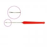 Крючок, игла, для поднятия петель, для вышивки бусинами и пайетками, KL1315