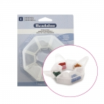 8 Compartment Storage Ring, 2,5 x ø10cm, Beadalon 207A-100