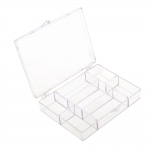 7 Compartment Storage Box 9,5 x 12 x 2,4cm, KL1304