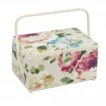 XL-mõõdus suur õmblustarvikute karp: Vintage Floral, (d/w/h): 20 x 39 x 26cm, Hobby Gift HGXL.454