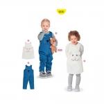 Lõiked lastele pikkusega 68-98cm, Burda Nr. 9330